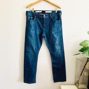 Anthro Pilcro & The letterPress Slim Straight Jean Size 32
